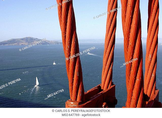 Golden Gate bridge. San Francisco. USA