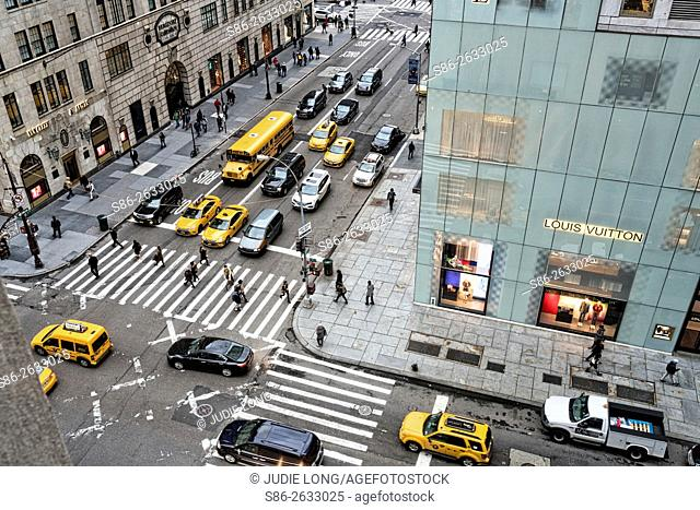 Intersection of Fifth Avenue and East 57th Street, Manhattan, New York City