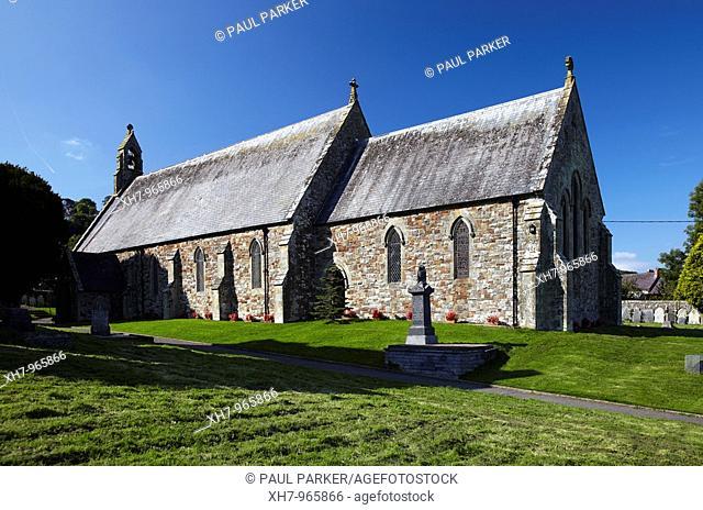 St Thomas Church, St Dogmaels, West Wales, UK