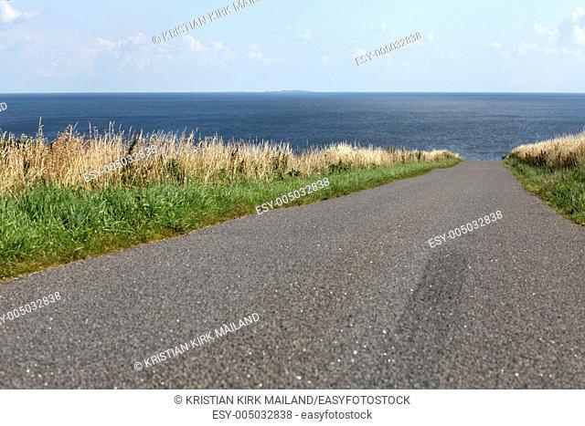 Road to deep blue sea