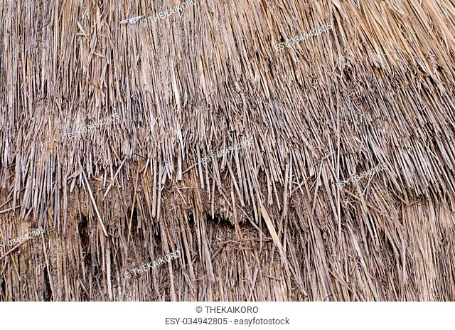 Dry straw pattern, background