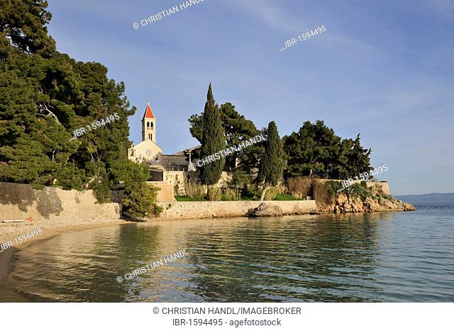 Dominican monastery, Bol, Brac island, Croatia, Europe