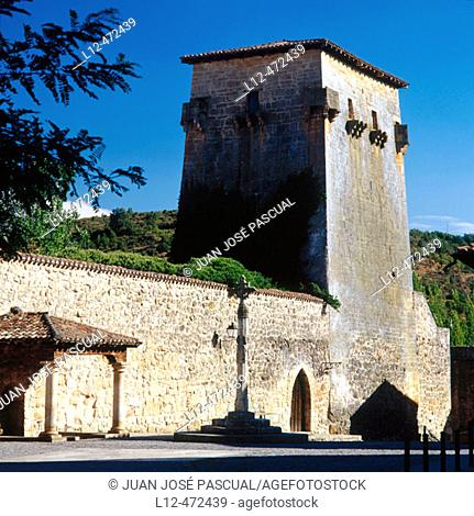 Tower of Fernán González, Covarrubias. Ruta del Cid, Burgos province, Castilla-León, Spain