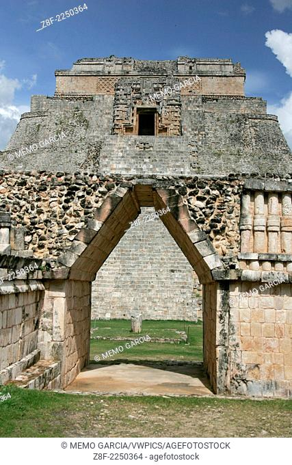 Pre-hispanic town of Uxmal in Yucatan, Mexico, shows the splendor of Mayan Civilization. Built in AD 700 hosted more than 20,000 habitants