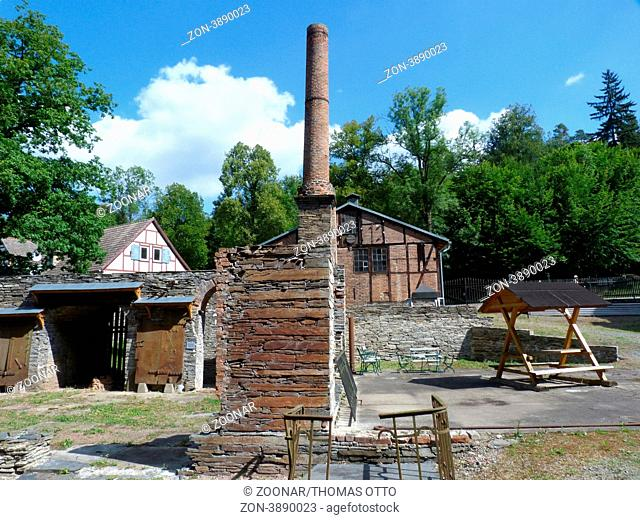 Iron foundry interior, Stock Photo, Picture And Rights Managed Image