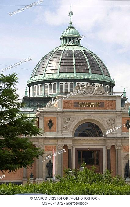 NY Carslberg Glyptotek museum. Copenhagen. Denmark