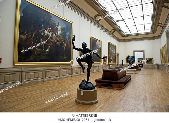 France, Loire Atlantique, Nantes, European Green Capital 2013, Fine Arts Museum