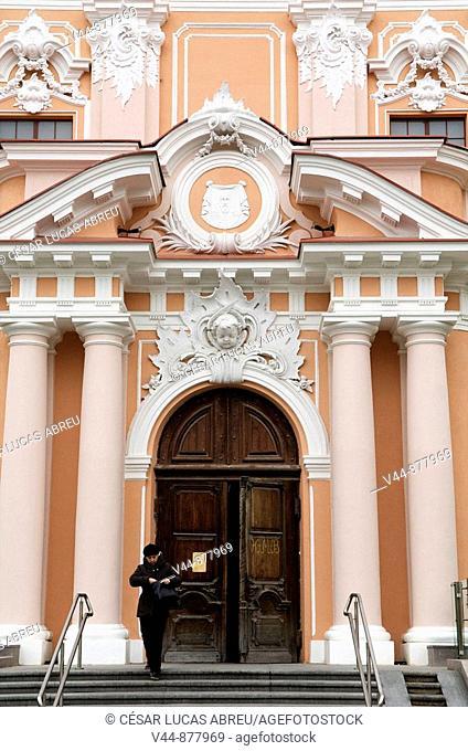 Church of Saint Casimir, Vilnius, Lithuania