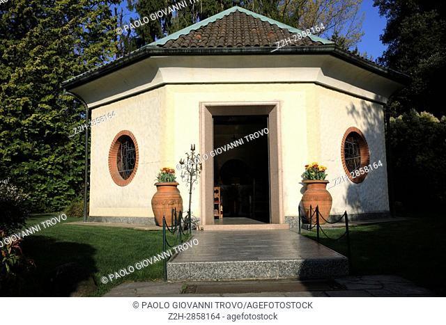 Villa Taranto botanical gardens, Verbania, Piedmont, Italy