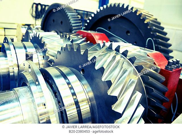 Gearbox. Industry. Gipuzkoa. Basque Country. Spain