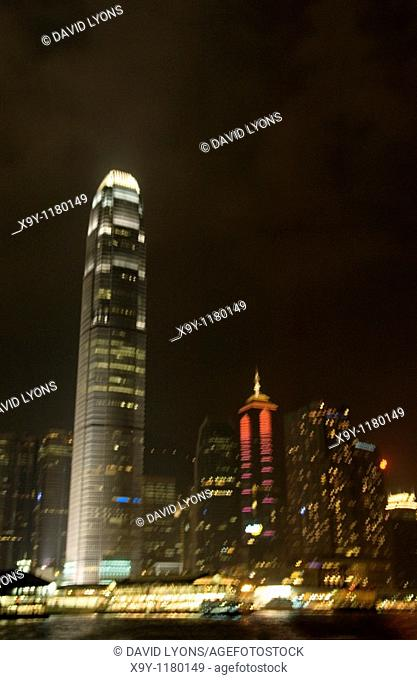Building known as Two International Finance Centre in the Central District of Hong Kong Island, China  Top ten tallest in world