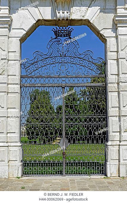 Europe, Italy, Veneto Veneto, Stra, via doge Alvise Pisani, Museo Nazionale Tu villa Pisani, gate, architecture, historically, place of interest, tourism