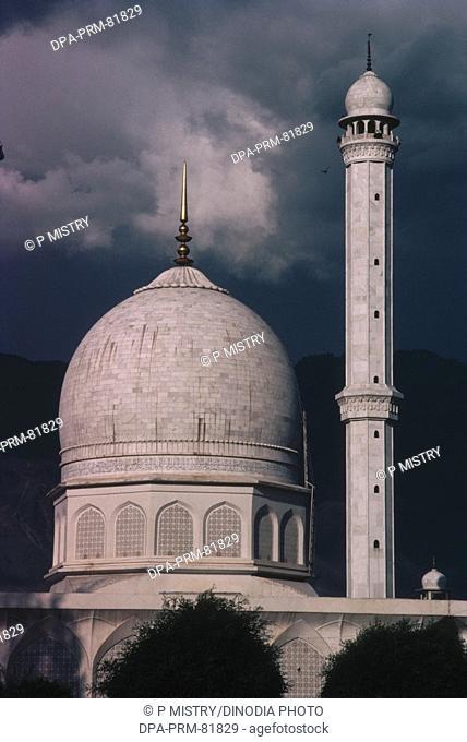 Hazrat bal masjid dargah , srinagar , jammu and kashmir , india