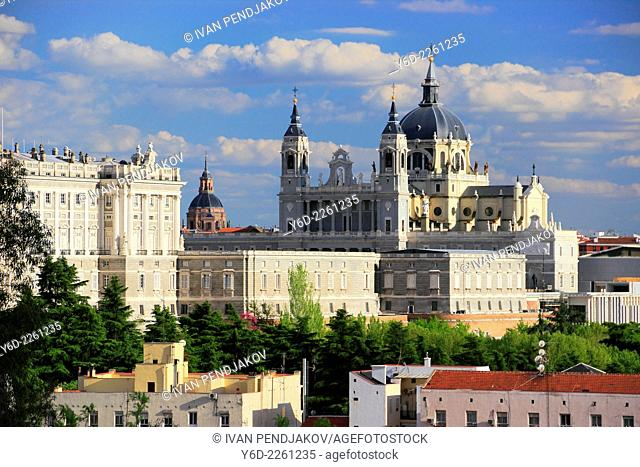 Cathedral of the Almudena in Madrid, Spain