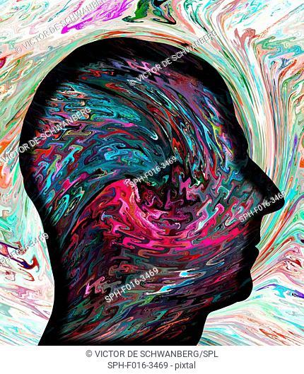 Human mind, illustration