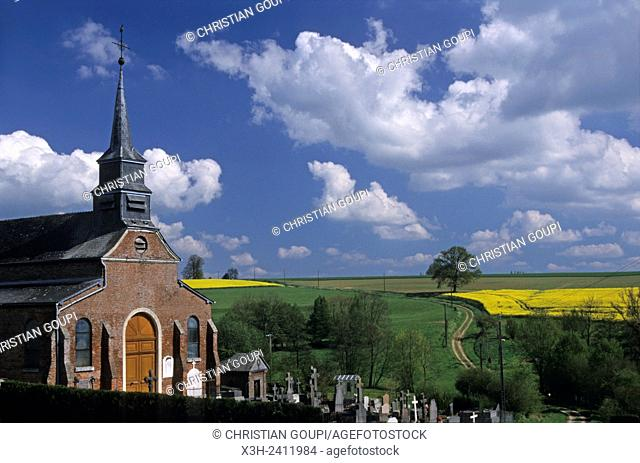 The Thierache region, Aisne department, Picardy region, northern France, Europe
