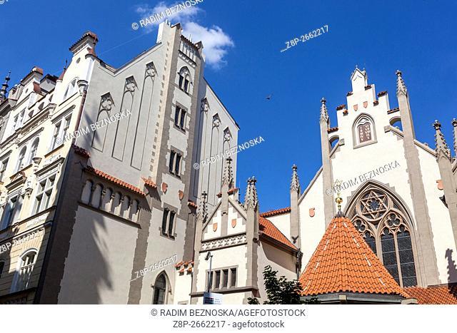 Maisel Synagogue, Jewish Quarter, Old Town, Josefov, Prague, Czech Republic