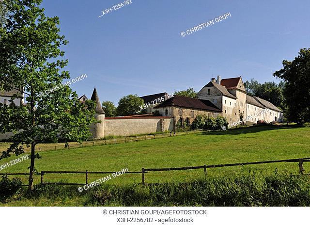 Vyssi Brod Monastery, South Bohemia region, Czech Republic, Europe