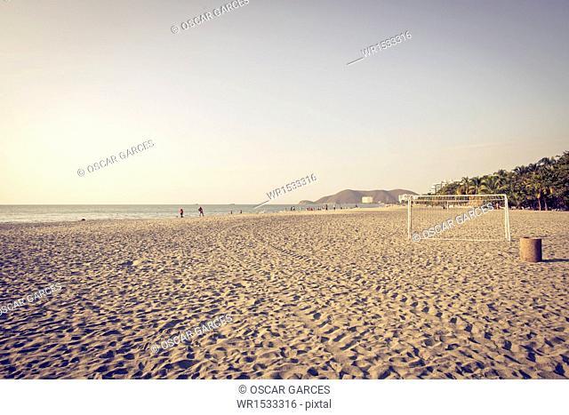 Beach Beautiful Horizon, Santa Marta, Magdalena, Colombia