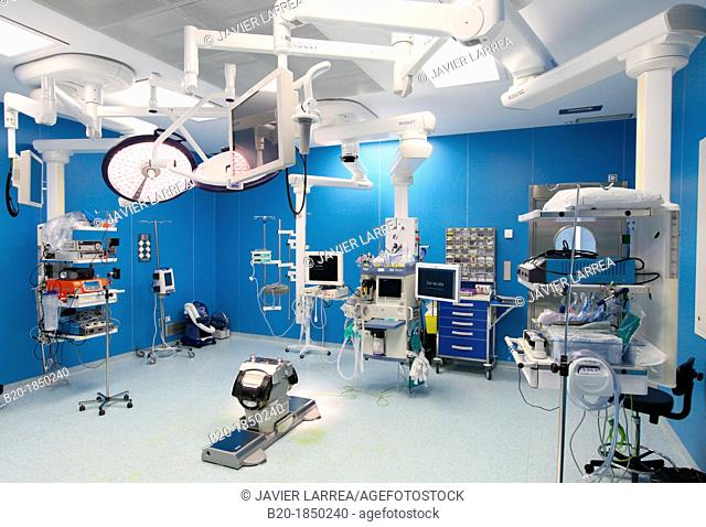 Operating Theatre, Donostia Hospital, San Sebastian, Donostia, Gipuzkoa, Basque Country, Spain