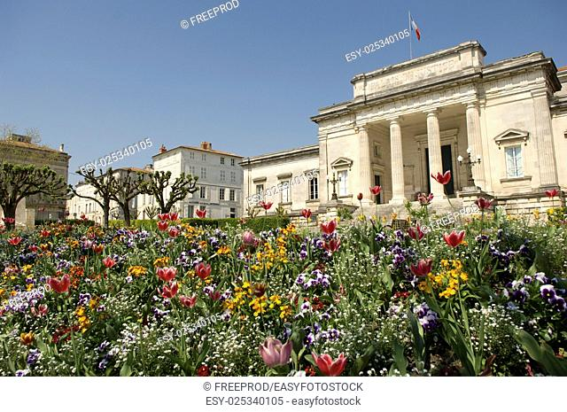 Palace of justice of Saintes, France, Charente-Maritime, Europe