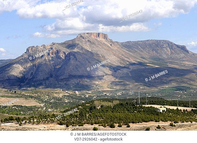 Maimon mountain. Velez Blanco, Almeria province, Andalucia, Spain