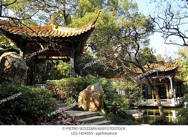 Guangzhou (China): the Orchid Garden