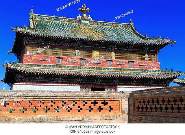 Erdene Zuu Buddhist monastery, Kharkhorin, Ovorkhangai Province, Mongolia