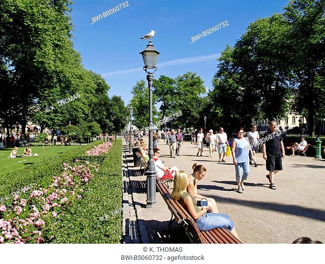 Helsinki, Esplanade, Finland, Helsinki