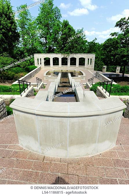 Water Pools State Capitol Jefferson City Missouri