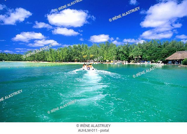 Mauritius - East Region - Ile aux Cerfs - Island - landscape
