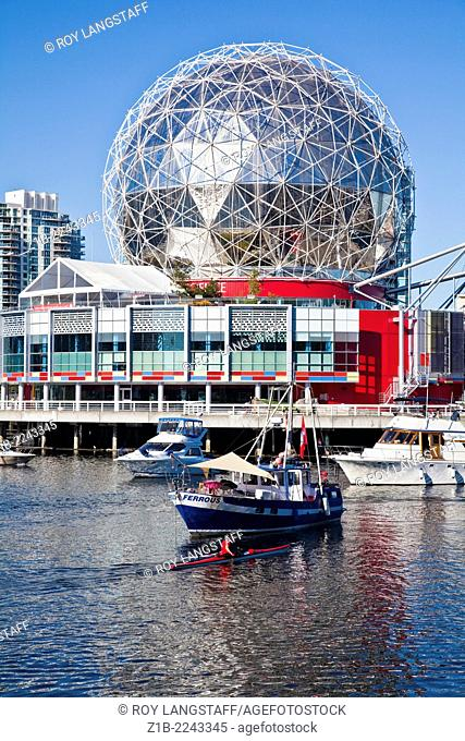 Science World building in Vancouver, Canada