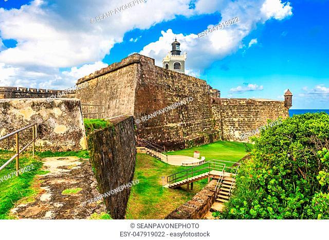 San Juan, Puerto Rico at Castillo San Felipe del Morro
