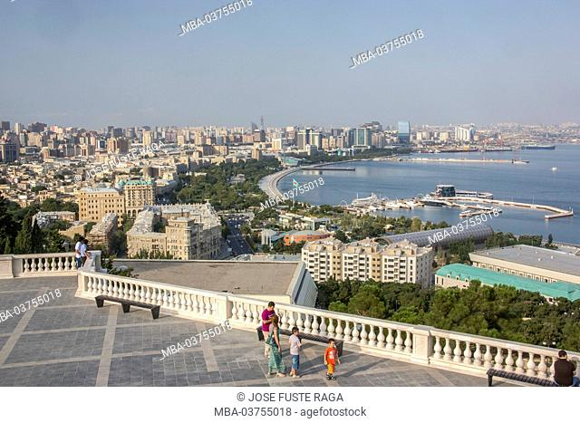 Azerbaijan, Baku City, Baku Bay, Down Town Area