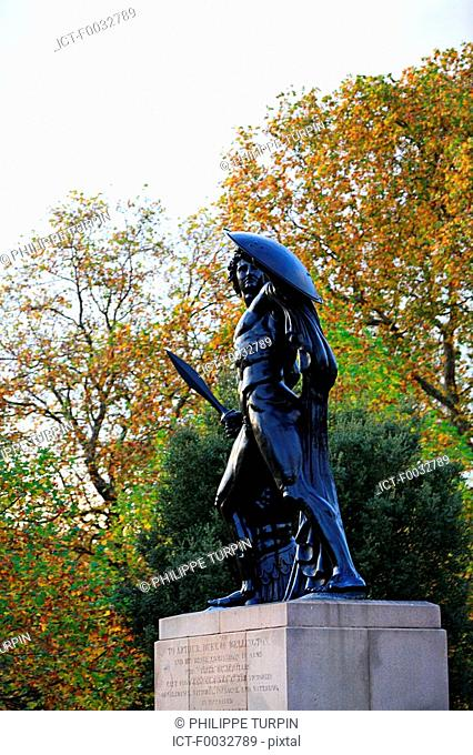 England, London, Hyde Park, statue of Achilles