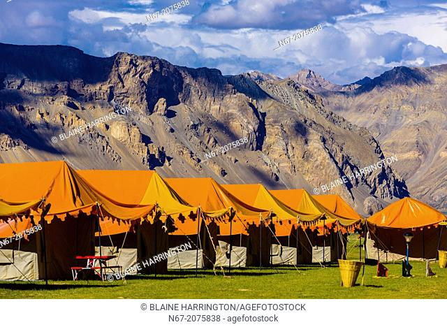 Gold Drop Camp (tented accomodation) at Sarchu The camp (at 14,432 feet) along the so-called Leh-Menali Highway is between the Baralacha La and Lachulung La...