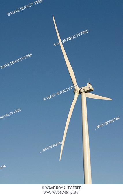 Upper portion of wind turbine