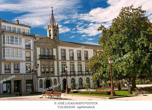 Plaza Mayor, Lugo, Region of Galicia, Spain, Europe