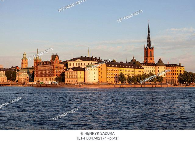 Skyline of Stockholm, Sweden, Europe