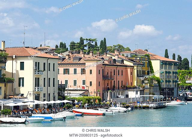 Peschiera lake Garda Italy hotels boats summer