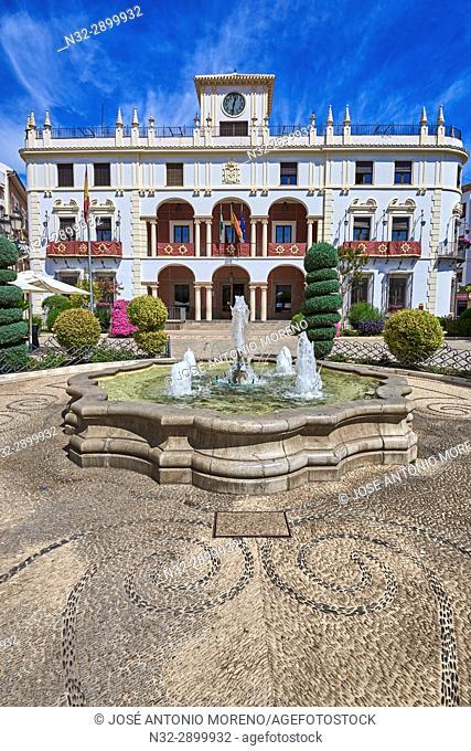 Priego de Cordoba, Town Hall, Sierra de la Subbetica, Route of the Caliphate, Cordoba province, Andalusia, Spain