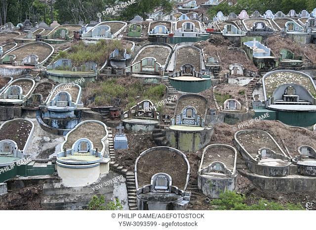 Chinese Cemetery, Sandakan, Sabah, Malaysian Borneo
