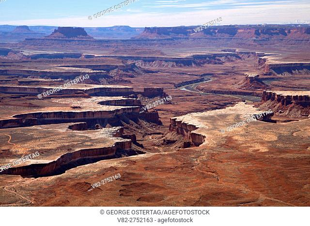 View from Green River Overlook, Canyonlands National Park, Utah