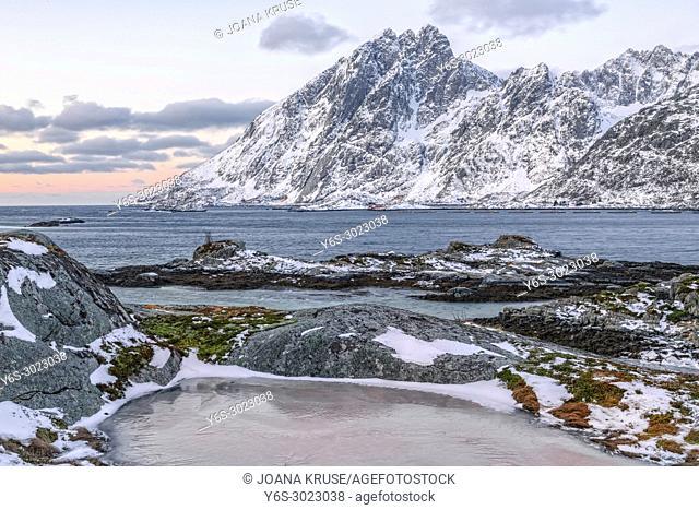 Sund, Ramberg, Leknes, Lofoten; Norway; Europe;