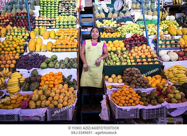 Peru, Arequipa, local market