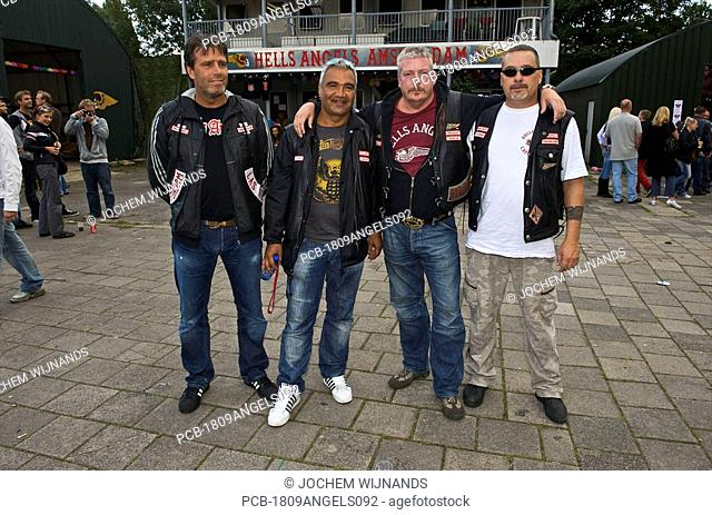 Netherlands, Amsterdam, Angels Place, Hells Angels clubhouse, open house