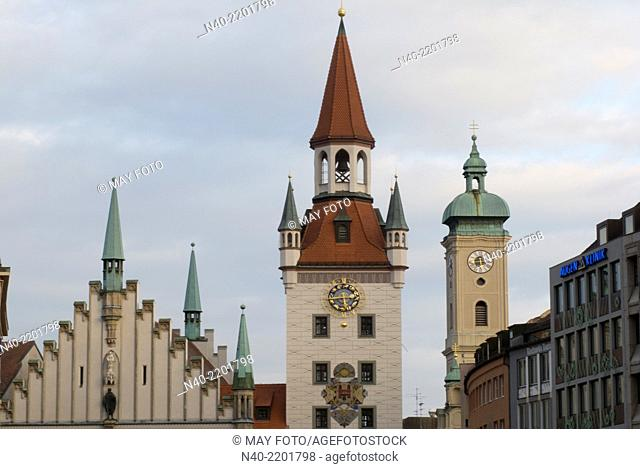 Altes Rathaus Old City Hall, Munich, Germany