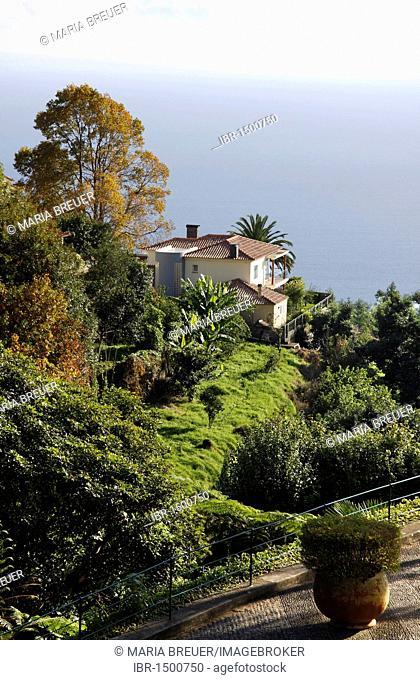 Monte Palace Tropical Gardens, Jardi Tropical Monte Palace, Jose Bernardo Foundation, Funchal, Madeira, Portugal, Europe