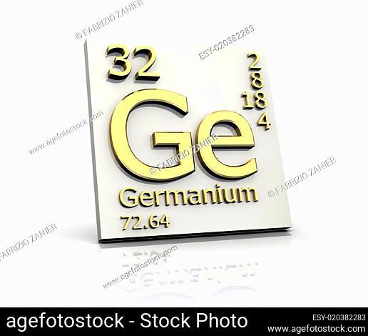 Germanium form Periodic Table of Elements