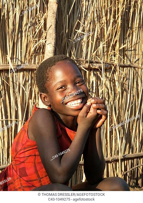 Namibia - Kavango girl  Caprivi region, Namibia